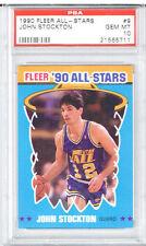 1990 Fleer All - Stars John Stockton PSA 10
