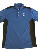 Nike Golf Dri Fit Mens Polo Shirt Blue-US Compliance Corporation-Size XL