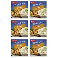 Lipton Recipe Secrets Soup and Dip Mix For a Delicious Meal Onion Great With