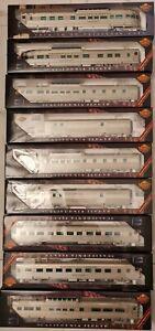 Broadway Limited Premium HO Passenger Car The California Zephyr set of 9