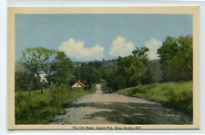 Old Road Grand Pre Nova Scotia Canada 1940s postcard
