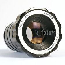 Zeiss Ikon ikotar 3,5/85 * lente di proiezione * Projection Lens