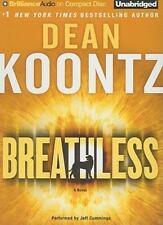 BREATHLESS by DEAN KOONTZ UNABRIDGED CD performed by Jeffrey Cummings