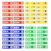National Optical 12pcs Plastic Prepared Microscope Slides for Stereo Microscopes