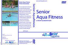 Senior Aqua Fitness DVD FITNESS Swim Class Therapy Strength Flexibility Joints