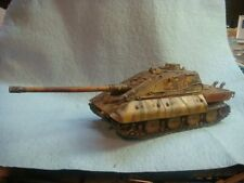 "Jagdpanzer E-100 ""Krokodil"" 1/72 resin model tank (World of Tanks)"