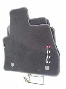Fiat 500L Carpet Mat Set Black 59137226