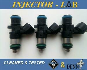 Injectors for Smart ForTwo 1.0 W451  1465A337  ORIGINAL  set of 3 CLEANED&TESTED