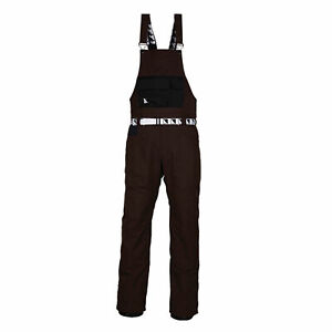 686 Overall Up Ski Snowboard Forest Bailey Bib Pant Expresso Medium