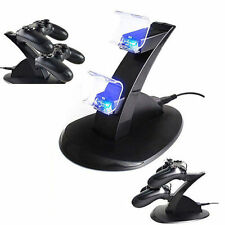 Dock Station ricarica USB Supporto PlayStation PS3 Dual Joystick LED Caricatore