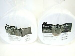 """Lot of 2 Doodleduster Disposable Cloth 7"""" x 13 4/5"""" 250 Sheets MMM19152 69-1"""