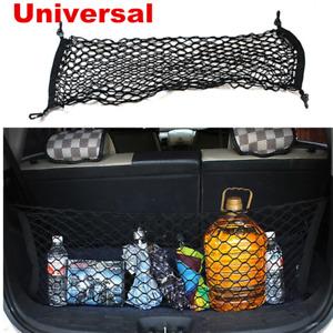 Black Universal Car Trunk Cargo Net Mesh Storage Organizer Pocket 90cm*30cm