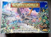 VINTAGE The Game of Fantasy Battles 4th Edition Warhammer 1992 Goblins Elves