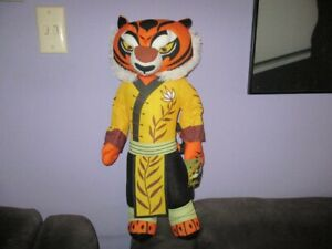 Kung Fu Panda's- Large TIGRESS soft plush toy NWT