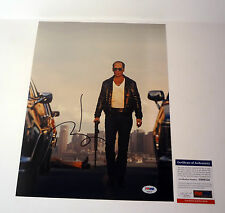 JOHNNY DEPP PIRATES BLACK MASS SIGNED AUTOGRAPH 11X14 PHOTO PSA/DNA COA #2