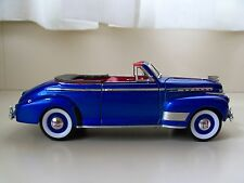 WELLY / EXCITE - 1941 CHEVROLET SPECIAL DELUXE CONVERTIBLE - 1/24 DIECAST MODEL