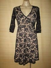 Polyester/Spandex Lace 3/4 Sleeve Dresses for Women