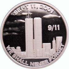 Lot of 20 - 1 oz Copper Round - 9/11 We Shall Never Forget