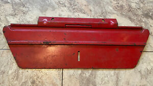 Original Massey Ferguson Toolbox Lid