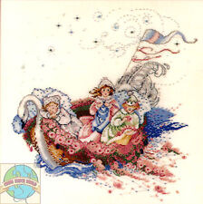 Cross Stitch Chart / Pattern ~ Mirabilia The Baby Boat Children & Babies #MD16