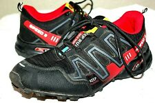 MENS SALOMON SPEED 3 HIKING TRAIL RUNNING SHOES SIZE 43 OR 9 - 9.5 KEEP RUNNING