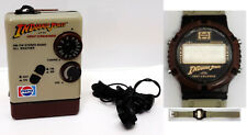 Vintage Indiana Jones Last Crusade Pepsi Promo Transistor Radio & Watch Set of 2