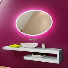 Illuminated LED Bathroom Mirror To Measure Custom Size L74