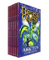 Beast Quest Series 5 The Shade of Death By Adam Blade Collection 6 Books set New