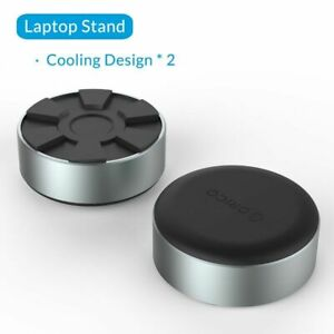Laptop Stand Heat Dissipation Footpad Portable Aluminum For Macbook Lenovo Asus