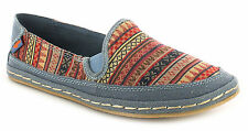 Women's Textile Deck Shoes