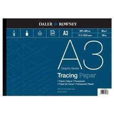 Daler Rowney Tracing Paper Pad - 90 gsm - A3