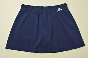 Adidas CLIMALITE Size SMALL Womens NAVY BLUE Stretch TENNIS Golf SKORT SKIRT