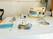 Pentax Optio 60 6.0Mp Digital Camera - Silver Accessories Batteries Memory Card