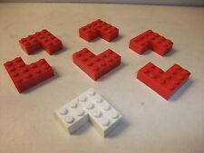 p Rarität LEGO System Spielzeug Bausteine Konvolut Eckbausteine 50er-60er Jahre