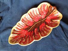 plat coupe a fruit centre de table ceramique vallauris vintage  1960 1970 60 70