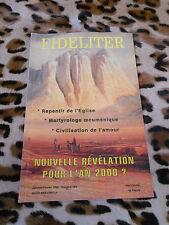 Revue - FIDELITER n° 103, 1995