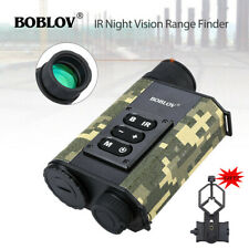 200M Infrared Night Vision Rangefinder 6x Optical Zoom Camera with Phone Adapter