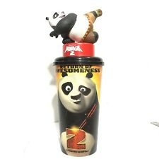 Kung Fu Panda 2 Movie Figurine Panda Po Cup Topper Cinemas Theatres Model