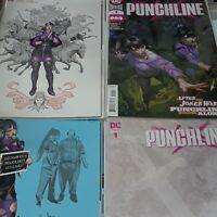 PUNCHLINE #1 DC 2020 | 1:25 JORGE JIMINEZ INCENTIVE  + Covers A-C | 4 BOOK LOT