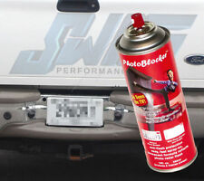 License Plate Camera Blocker and Jammer Spray As seen on TV