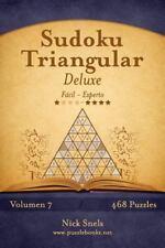 Sudoku Triangular: Sudoku Triangular Deluxe - de Fácil a Experto - Volumen 7...