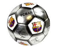 Official Ball Football Barcelona Club Size 5 Team Match Training With Signature