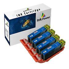 4 Cyan Ink Cartridges For Canon Pixma IP4850 IP4950 IX6250 IX6550 MX715