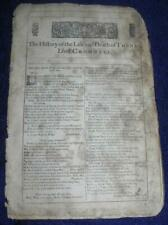 Life and Death of Thomas Cromwell Complete William Shakespeare 3rd Folio 1664