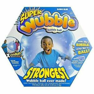 Super Wubble Bubble Ball with Pump Boing Blue