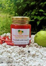 Sweet Chilli Jam with Lime (Homemade) -Tropical Paradise Preserves
