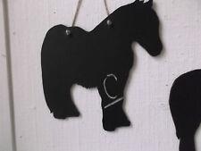 Cavallo Pony Forma C Chalk Board Segno Lavagna regalo di compleanno Dales Pony Cob