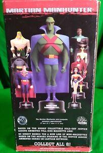 MARTIAN MANHUNTER Maquette Statue Justice League Series Sideshow DC DIRECT NIB
