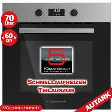 Küppersbusch Einbau Backofen Elektro Herd Autark Heissluft Timer Grill 70 Liter