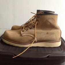 Authentic RED WING X A BATHING APE round toe suede boots shoes size 9 E / 42